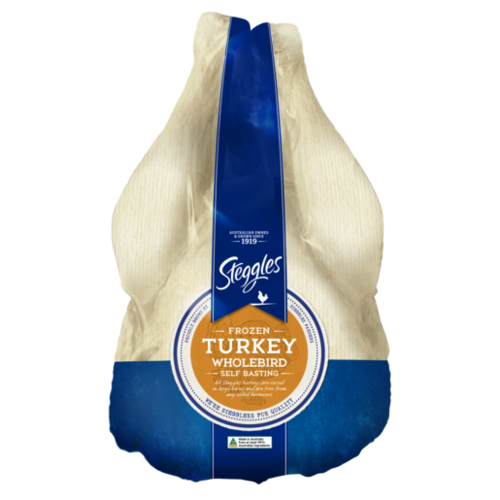 Frozen Turkey Wholebird Self Basting