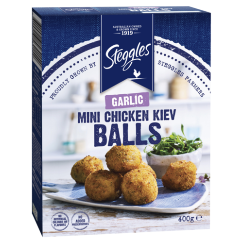 Mini Chicken Kiev Balls Garlic