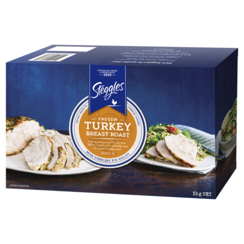 Frozen Turkey Breast Roast