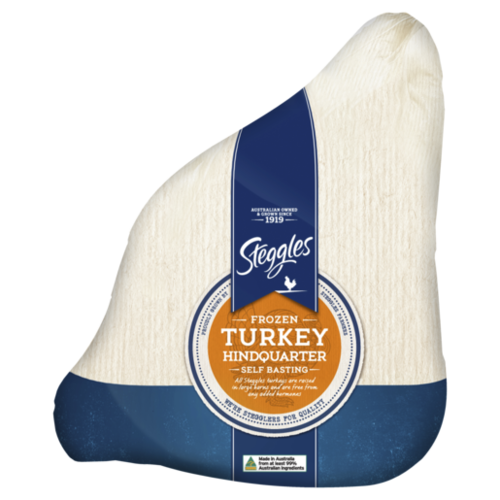 Frozen Turkey Hindquarter Self Basting