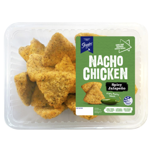 Nacho Chicken Spicy Jalapeño 400g