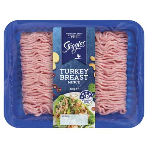 Steggles Turkey Breast Mince 400g